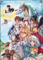 Ghibli by LeKitsune00