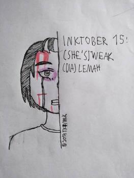 [BnHA Inktober 2018] Day 15 - (She's) Weak by MrLoncengKelinci