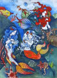 mermaids by SiriusBlack985