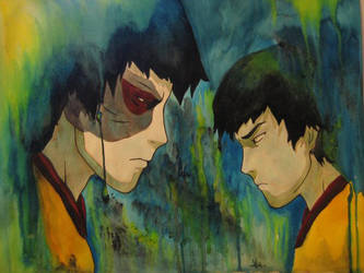 Zuko face to face by SiriusBlack985