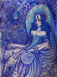 Distant Blue by SiriusBlack985