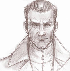 Daud Portrait by Tamarandom