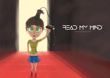 Read My Mind - HDMI Girl by Mitenro