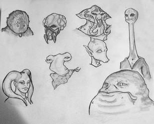 daily sketch 1 by KimBo007