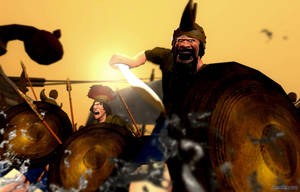 Sea Peoples - Ca 1100's BC by tigerfaceswe
