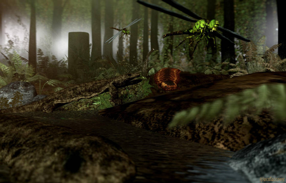 Carboniferous Swamp By Tigerfaceswe On Deviantart