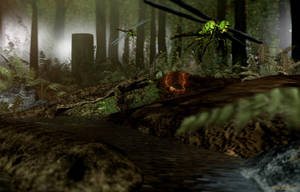 Carboniferous Swamp by tigerfaceswe