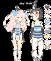 Mah Twins oAo by YumeOnii