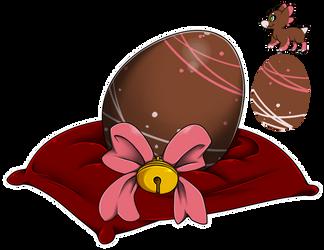 Eggy Raffle 2017 #5 - Chocolate Kiss by Wyngrew