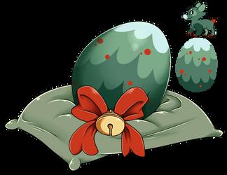 Eggy Raffle 2017 #10 - Dressed Tree by Wyngrew