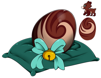 Egg Raffle 2018 #18 - Cinnamon Roll by Wyngrew