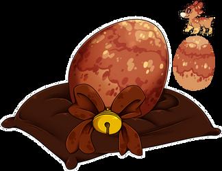 Egg Raffle 2018 #15 - Nutmeg Eggnog by Wyngrew