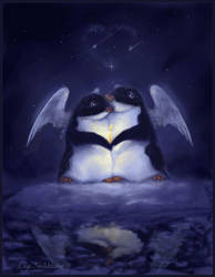 Penguin Dreams by liiga