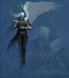 Symbiosis - dark elf by liiga