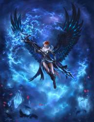 Jenna the Storm Crow by liiga