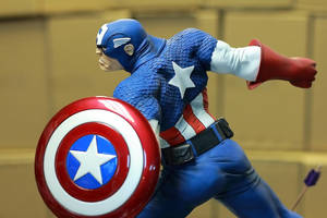 Captain America Painted 01 by mufizal