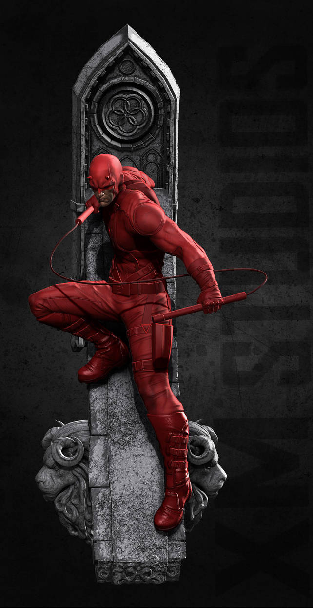 Daredevil For XM Studios by mufizal