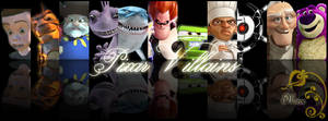 Pixar Villains Collage by hiroe90