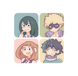 BNHA icons~ by xephia