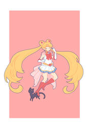 Super Sailor Moon by xephia