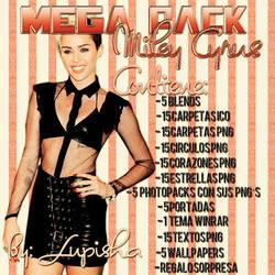 +MEGAPACK DE MILEY CYRUS by LupishaGreyDesigns