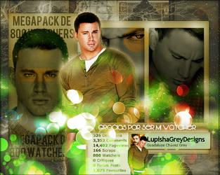 +MEGAPACK DE  +800 WATCHERS by LupishaGreyDesigns