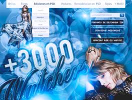PACK +3000 WATCHERS by LupishaGreyDesigns