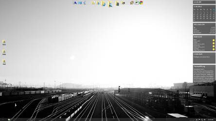 Rail yard by Prdenko