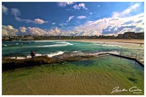 Bondi rock pools by jaydoncabe
