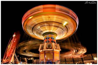 Nighttime Ride Rush motion by jaydoncabe