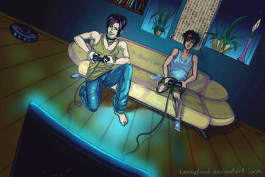 Play Station by LoonyFred