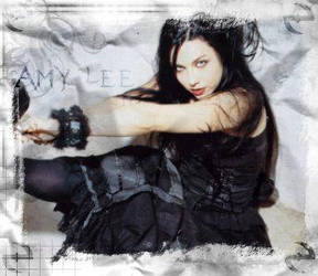 Amy Lee B+W by caiticat