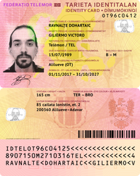 Telemor ID Card, v. 2 by requindesang