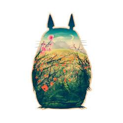 Tonari No Totoro by Design-By-Humans