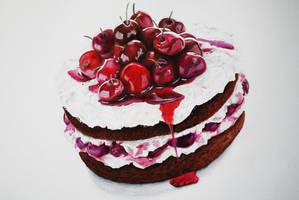 Cherries Cake by 19Frency94