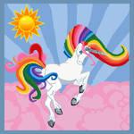 Rainbow Unicorn Quilt Idea!!! by Keyoko