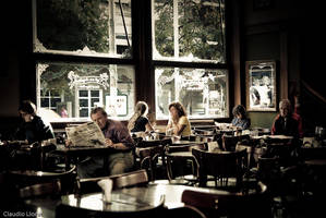 Los angelitos coffee shop by anahuac