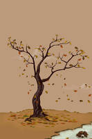 Autumn iphone Wallpaper by harwenzhang