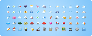 Cloud icon by harwenzhang