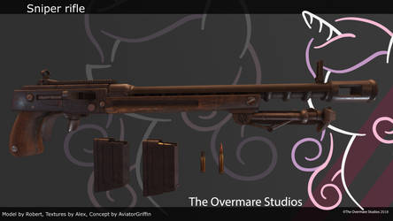 Sniper rifle by RobertGer