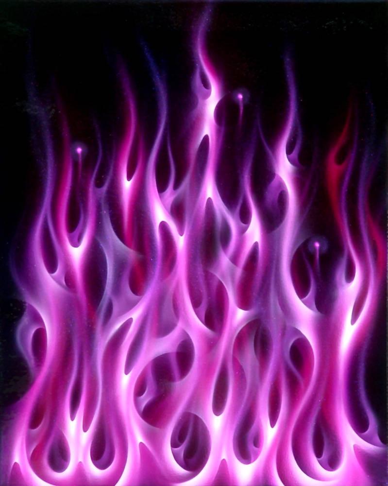 Violet Flame by hardart-kustoms