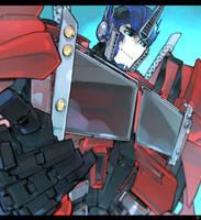 TFP Optimus. by Tojosaka666