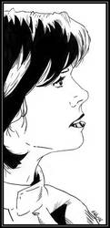Elizabeth Weir - Line Art by Down-Incognito