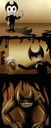 The Ink Demon - BATIM by LadyValKatt