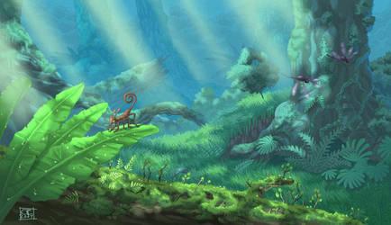 Rainforest by ZEBES
