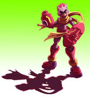 Protoman Zero by ZEBES