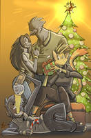 Mistletoe, Presents and Eggnog by Jaehthebird