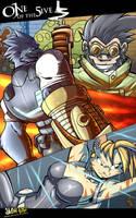 heroes in epic proportions by Jaehthebird