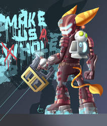Ratchet and Clank Dead Air by Jaehthebird