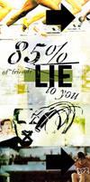 85 Percent by glue